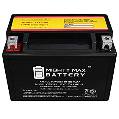 Mighty Max Battery YTX9-BS Replacement for 1998-2006 Suzuki GSX750F Katana Battery Brand Product: Electronics