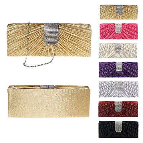 en main mariage Noir à Purse PartySac Wallet Pochette Handbag de embrayage Wanfor de paillettes Acrylic pour pour soirée soirée Clutch femmes faites perles qYzStzw