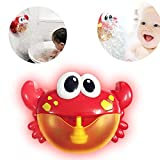 YLLuck Bath Bubble Maker, Crab Bubble Machine Educational Water Toys Gift for Boys & Gilrs