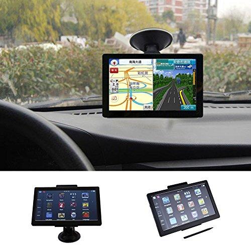 Sedeta 7 Inch Car GPS Navigation 8GB Auto Trucknav With European Map Touch Screen