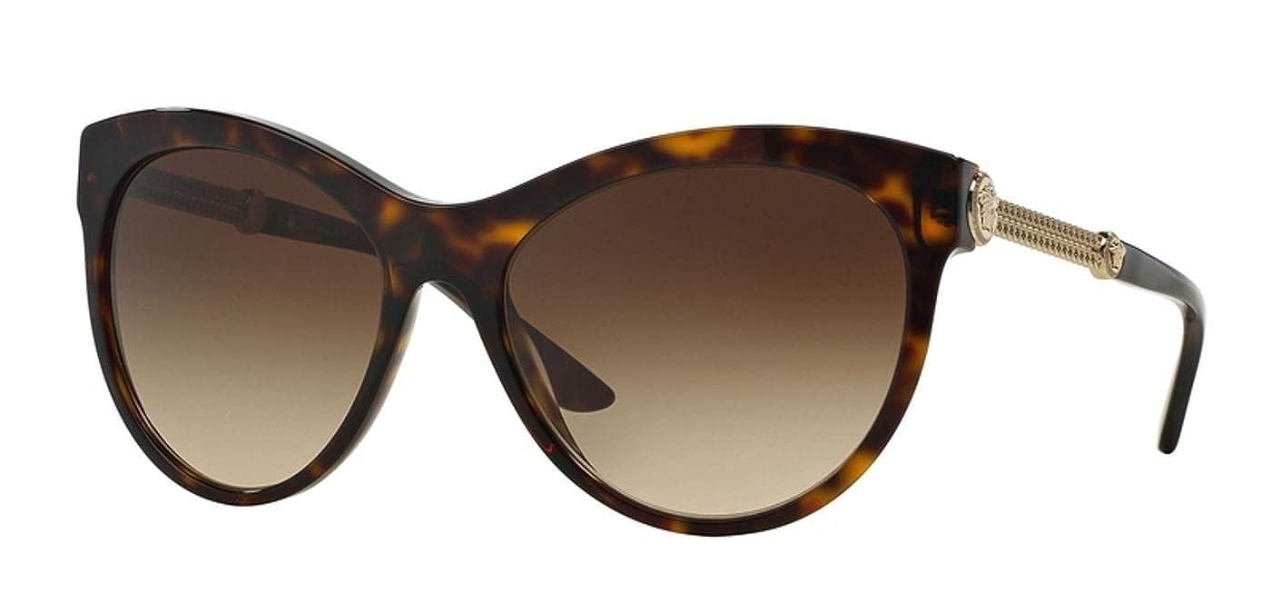Amazon.com: Versace ve4292 a de la mujer anteojos de sol ...