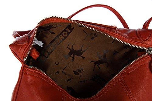 Longchamp borsa donna a tracolla pelle borsello rosso