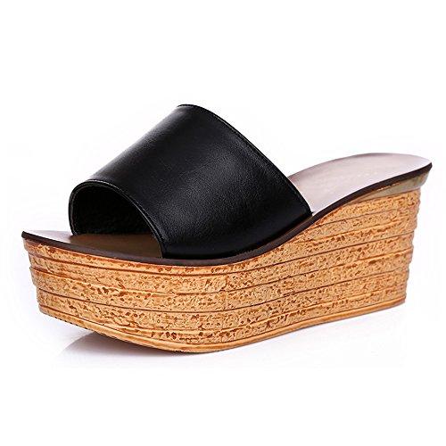 1 cn39 Colori uk6 8cm 2 Sandali Donna I 4 Pistoni colore Pantofole Per Le Scarpe Con Dimensioni Da Estate Di Eu39 Donne Tallone Generi Haizhen Mette Dell'alto SvqwFaKx4w