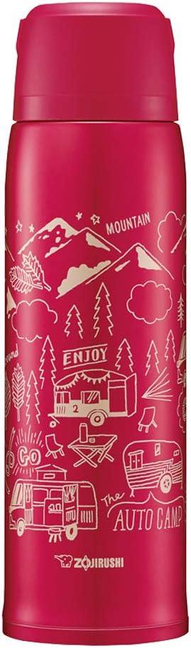 Zojirushi SJ-JS10RA Bottle Stainless Steel Mug, Red
