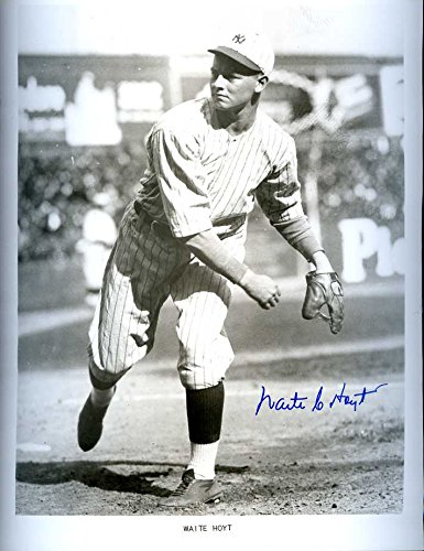 Waite Hoyt (1927 NY Yankees) Autographed/ Original Signed