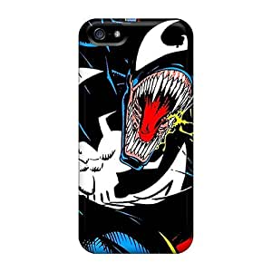 High Quality Cell-phone Hard Covers For Apple Iphone 5/5s (EPD1023AXpo) Customized Lifelike Venom Skin