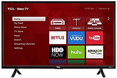 "TCL 43S303 LED 1080p 120 Hz Wi-Fi Roku Smart TV, 43"" (Certified Refurbished)"