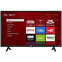 TCL 43S303 LED 1080p 120 Hz Wi-Fi Roku Smart TV, 43 (Certified Refurbished)