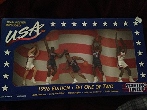 1996 USA Dream Team NBA Starting Lineup Edition Set One of Two