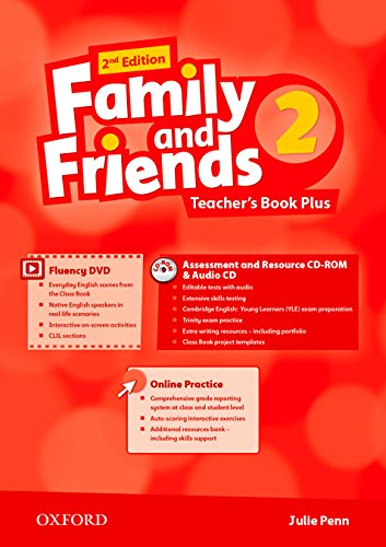Family and Friends 2nd Edition 2. Teacher's Guide Pack International (Family & Friends Second Edition)