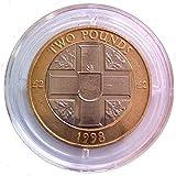 Isle Of Man 2018 Mike Hailwood 40 Years 2 Pounds Bi-metallic Coin UNC