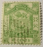 NORTH BORNEO SCOTT#42 CAT VALUE AT $3.00 USED....WORLDWIDE STAMPS