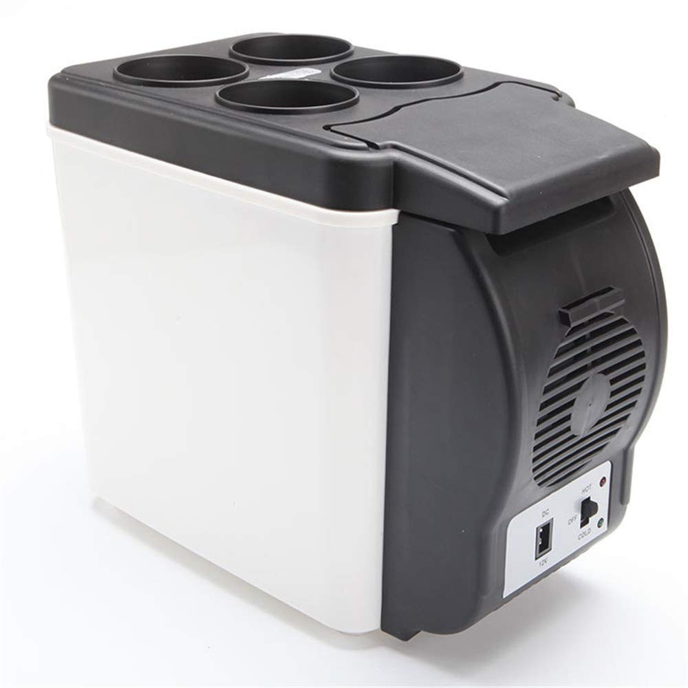Nrthtri Compact Cooler Warmer Mini Fridge Wine Cooler for Cars with Cold and Hot Functionality ECO Power Saving Mode AC & DC Road Trips Homes Offices & Dorms car Refrigerator car Refrigerator