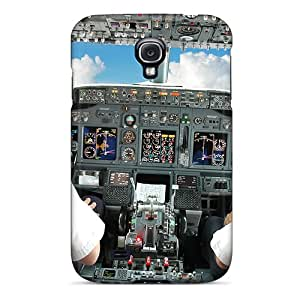 AshtonWells Samsung Galaxy S4 Durable Cell-phone Hard Covers Customized High Resolution Cockpit Skin [pyL10396GZSv]