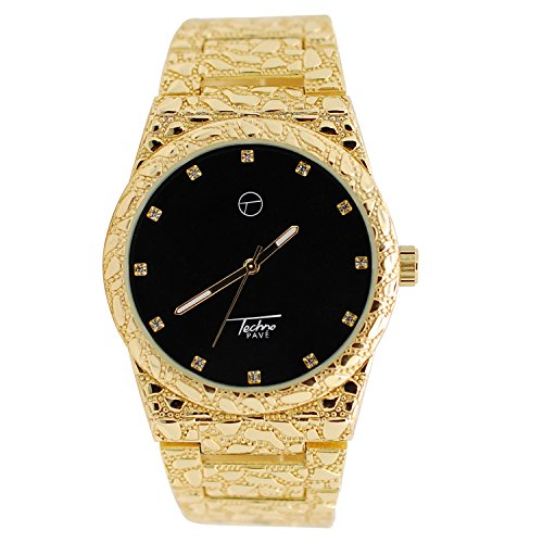 Black Diamond Dial Watch - 9