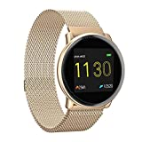 Smart Watch UMIDIGI Uwatch2 Fitness Tracker with All-Day Heart Rate & Activity Tracking, Sleep Monitoring, IP67, Ultra-Long Battery Life, Smartwatch for Men Women Compatible with iPhone Samsung(Gold)