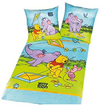 Herding 462308050 Bettwäsche Winnie Pooh Kids Best Größe
