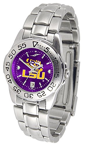 ) Tigers Sport AnoChrome Ladies Watch with Steel Band (Tigers Ladies Sport Steel Watch)