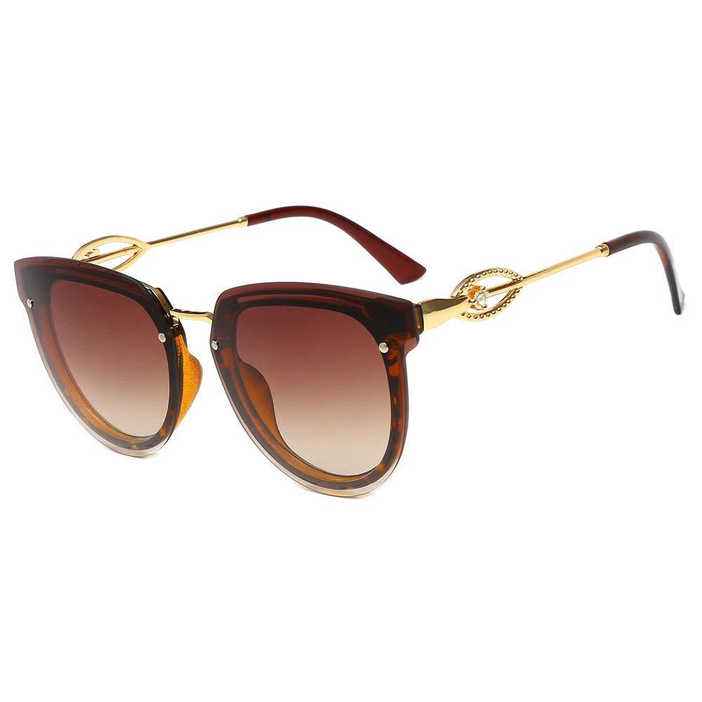 Yangjing-hl Gafas de Sol Gafas de Sol de Diamante para Mujer ...