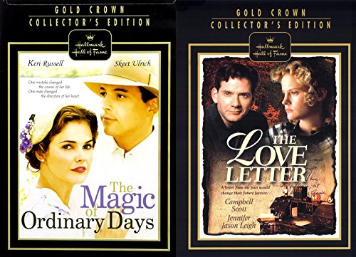 (Gold Collectors Edition Love Letter & Magic of Ordinary Days Hallmark 2 Pack DVD Bundle Double Feature )