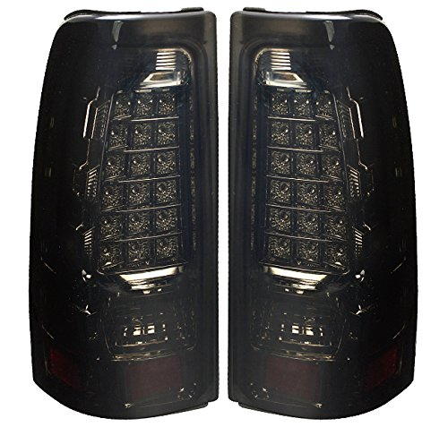 AJP Distributors New Generation LED Tail Lights For Silverado Sierra 1500 (Gmc Sierra Fleetside Led Tail)