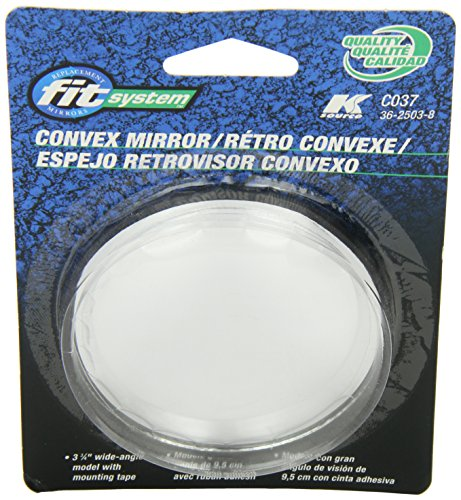 Fit System C037 Driver/Passenger Side Replacement Round Convex Mirror by Fit System (Image #2)