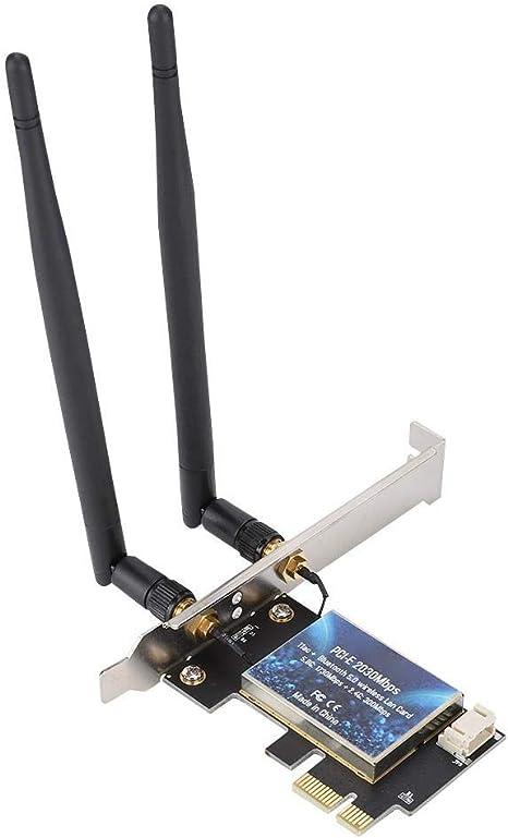 Amazon.com: Yoidesu - Adaptador de tarjeta PCIe WiFi de ...
