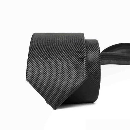 Hjyi Corbata de Vestir para Hombres, Corbata con Cremallera a ...
