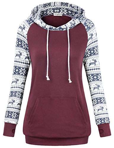 Women's Hooded Sweatshirt  With Pockets