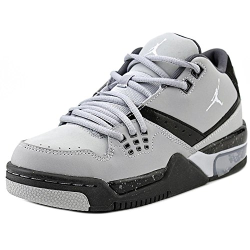 Jordan Nike Kids Flight 23 BG Wolf Grey/PR Pltnm/Blck/CL Gry Basketball  Shoe 7 Kids US