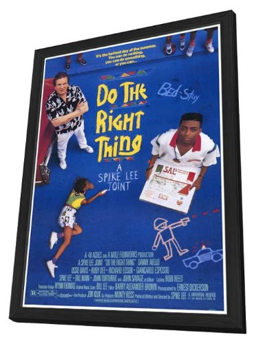 Do the Right Thing - 27 x 40 Framed Movie Poster by Movie Posters