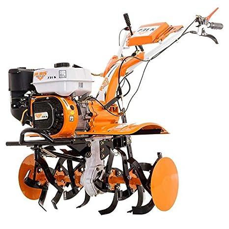 Motocultor 7,5 Cv 6 fresas velocidades 2AV - 1AR Ruedas agrarias 400 ...