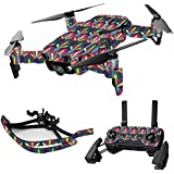 MightySkins Skin For DJI Mavic Air Drone - Bold Tile | Max Combo | Protective, Durable, and Unique Vinyl Decal wrap cover | Easy To Apply, Remove, and Change Styles | Made in the USA