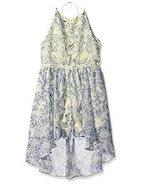 Amy Byer - Vestido sin Mangas para niña con Dobladillo y pantalón Corto