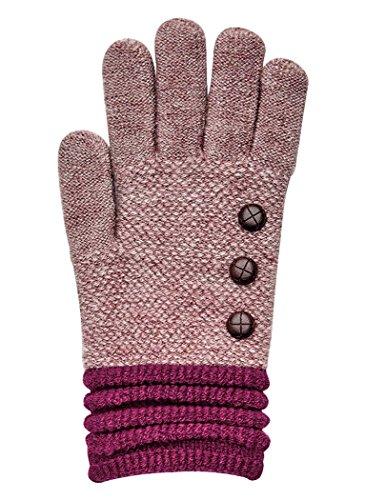Ultra Soft Gloves Burgundy...