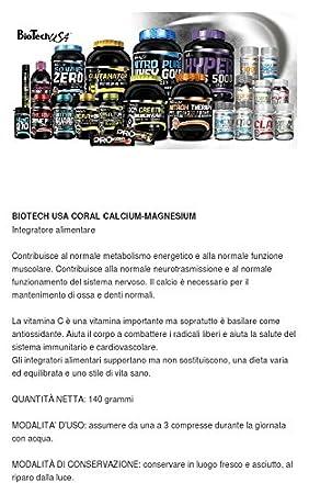 Biotech USA Coral Calcium, Magnesium Vitaminas y Minerales - 1000 gr: Amazon.es: Salud y cuidado personal