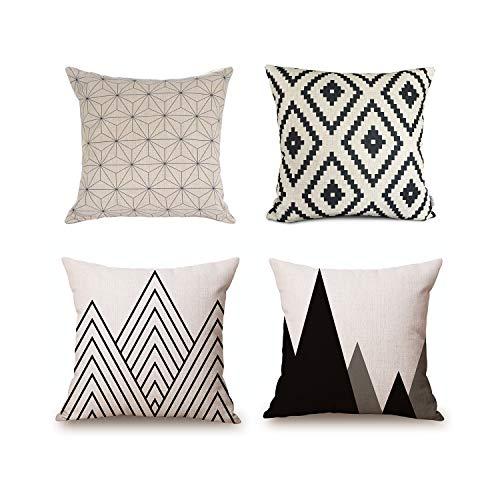 Scandinavian decor pillows