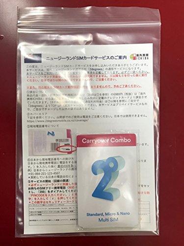 New Zealand Travellers Carryover Combo - 500MB Data, 100mins Calls(Au + NZ), Unlimited Text(Au + NZ)