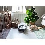 Iris-Ohyama-lettiera-per-gatti-con-pala-Cat-Litter-Box-plastica-grigio-38-x-485-x-305-cm