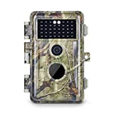 Meidase Trail Camera 16MP 1080P, Game Camera with No Glow Night Vision Up to 65ft, Hunting Camera with Motion Activated, 2.4' Color Screen and Unique Keypad, Waterproof Wildlife Camera