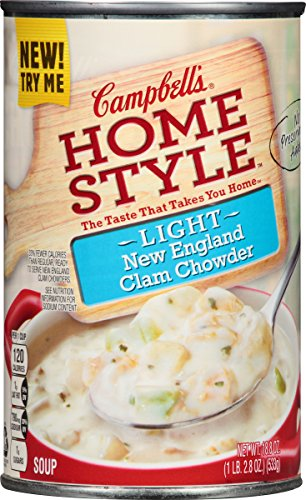 Campbell Hausfeld Homestyle Light Soup, New England Clam ...