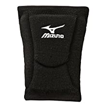 Mizuno LR6 Volleyball Kneepad, Black, Small