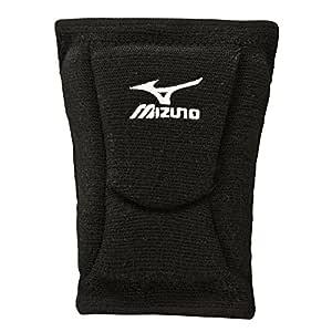 Mizuno LR6 Volleyball Kneepad, Unisex, 480105.9090.04.S, Black, Small
