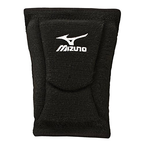 Mizuno LR6 Volleyball Kneepad, Black, Small