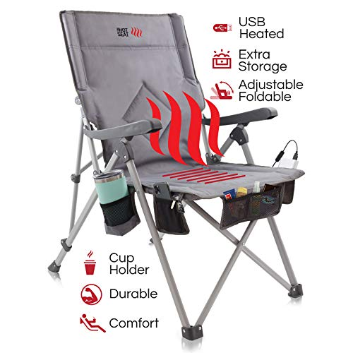 The Hot Seat Heated Portable Chair