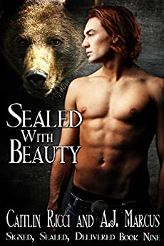 Sealed With Beauty (Signed, Sealed, Delivered Book 9) by [Ricci, Caitlin, Marcus, A.J.]