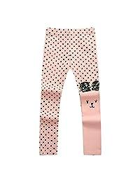 Richie House Girls' Assymetic Happy Bunny Pants Rh0155