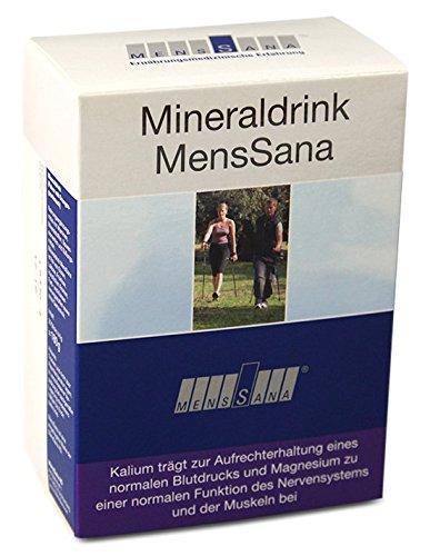 Mineraldrink MensSana | natürliche Vitalstoffe für starke Abwehrkräfte und umfassende Mineralien-Versorgung | Vitamine + Mikronährstoffe mit hoher Bioverfügbarkeit | wasserlösliches, wohlschmeckendes Pulver in Sticks