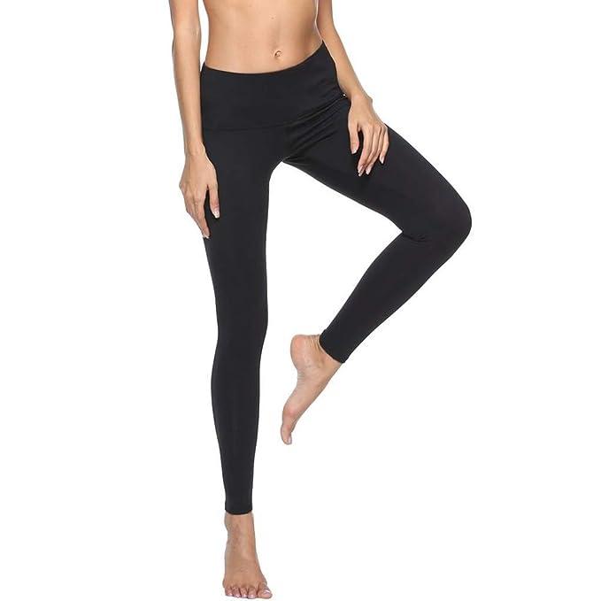 Amazon.com: POHOK Womens Yoga Long Pants Womens High Waist ...