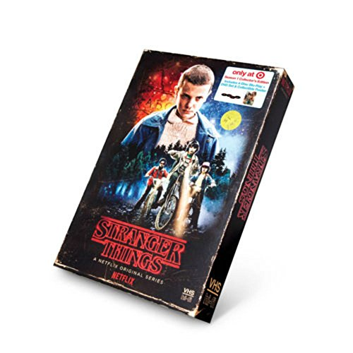 Stranger Things Season 1 Target Exclusive 4 Disc BluRay DVDs Region A Only